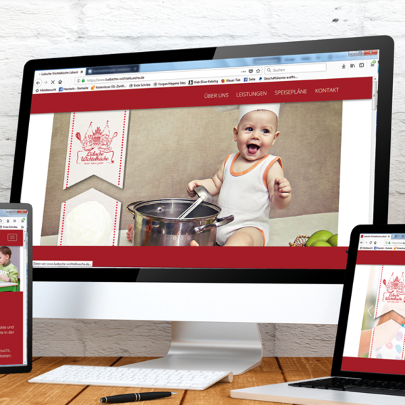 Internetseite Webdesign